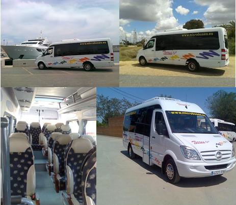 Alquiler de minibus y microbus
