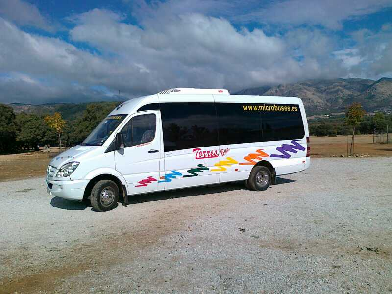 MiniBus Rental and Mini Coach hire bodas, traslados, visitas ciudad, depedidas y mas