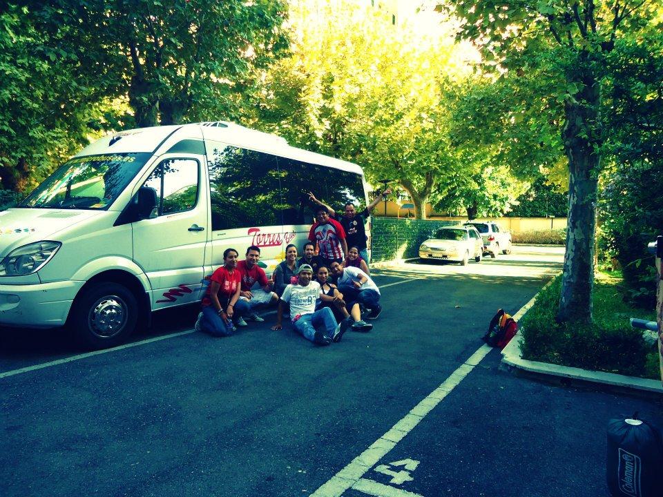 Alquilar minibus - Vacaciones en familia por España
