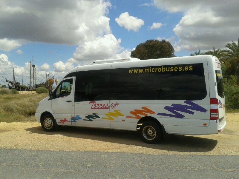 Minibuses Madrid - Alquiler Minibus Mercedes
