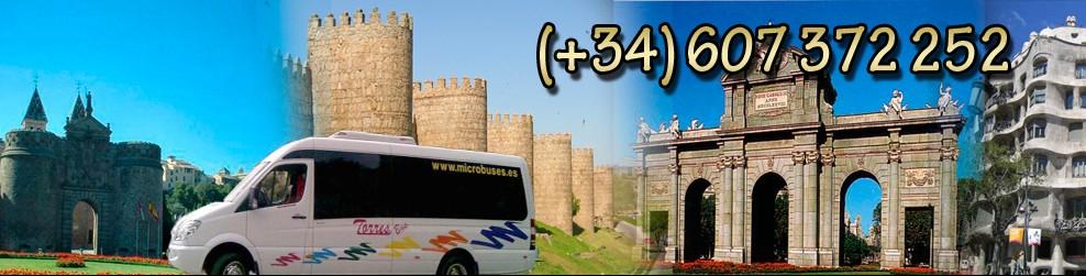 Alquiler de minibuses en Madrid